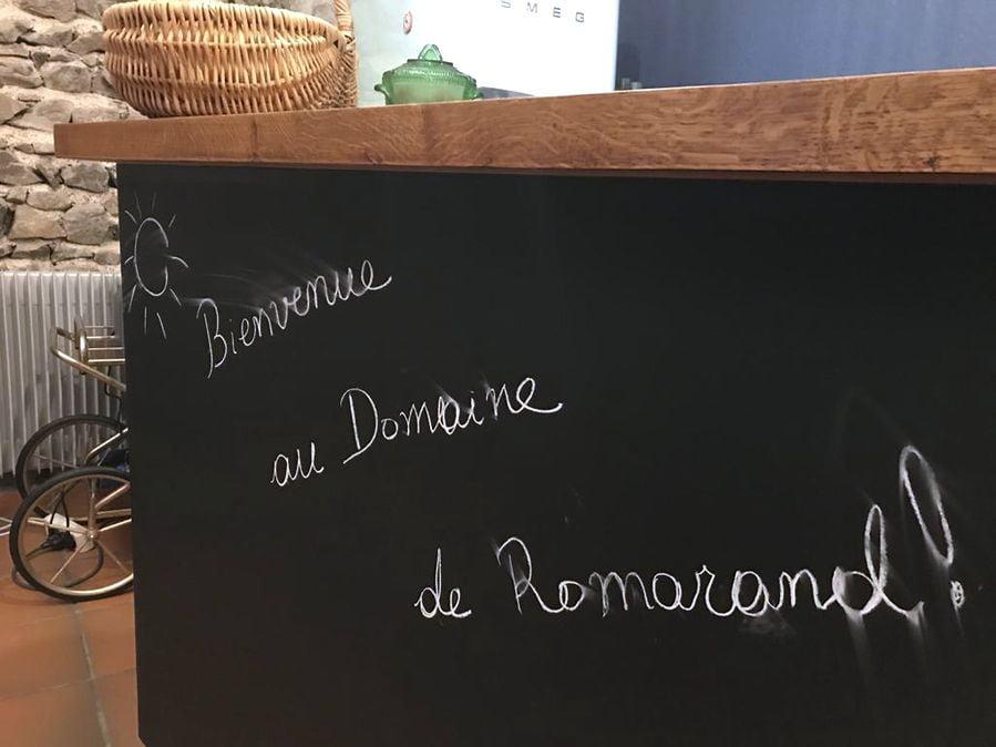 Table des hôtes Domaine de Romarand