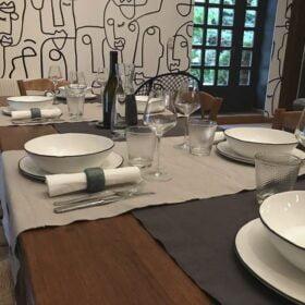 Repas au Domaine de Romarand